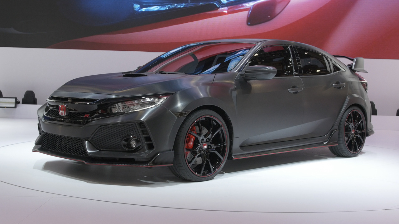 Video honda civic type r prototype at the paris motor show for Buy honda civic type r