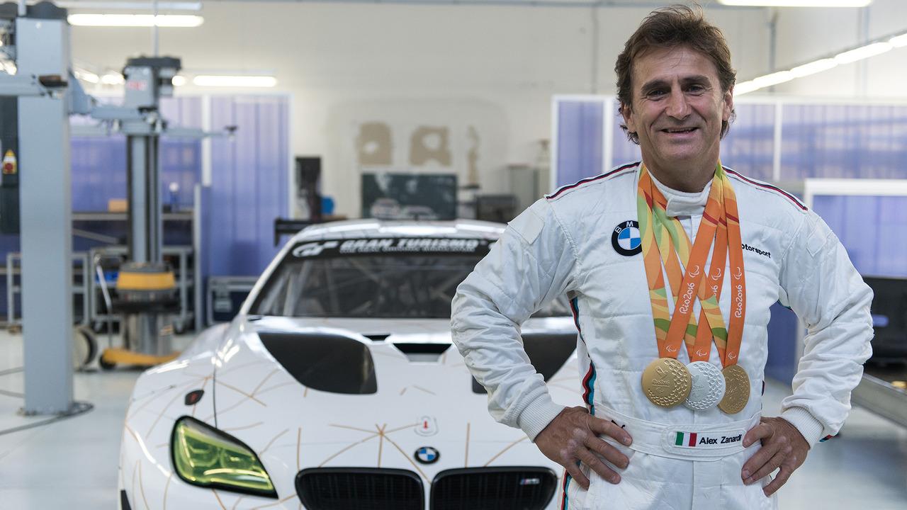 Alessandro Zanardi se prépare pour sa première course en BMW M6 GT3