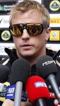 Raikkonen crashes after Hockenheim race