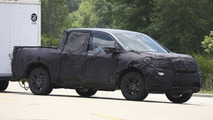 2017 Honda Ridgeline spied in the United States