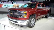 2014 Chevrolet Silverado live in Detroit 15.1.2013