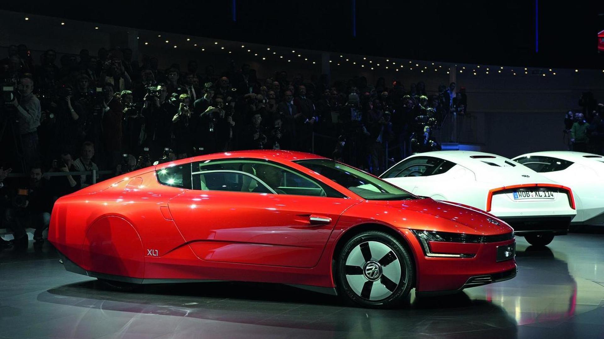 Volkswagen plotting four-seat XL1 - report