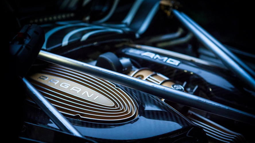 Pagani Huayra Roadster teased in exquisite detail