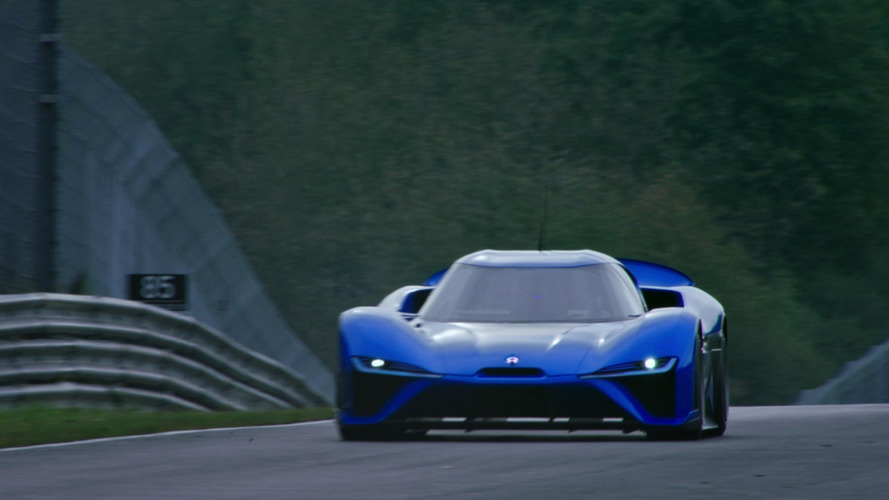 Watch the Nio EP9 tackle the Nurburgring to set new EV record