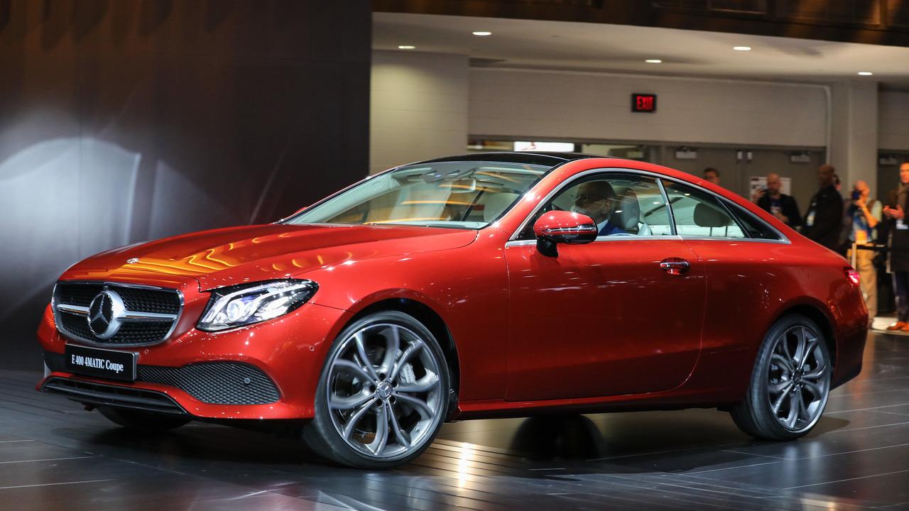2018 Mercedes-Benz E-Class Coupe: Detroit 2017