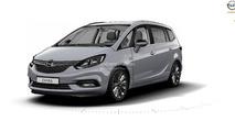 2017 Opel Zafira leak reveals an Astra-inspied front fascia