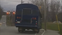 12-year old goes all GTA on his school bus, gets caught by police