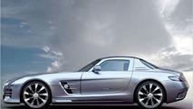 AK-Car Design styling illustration for Mercedes SLS AMG - 600