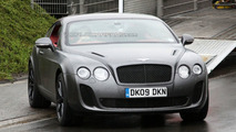 Bentley Continental Supersports Caught Flexing its Muscles on Nurburgring [Video]