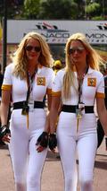 Renault girls in the pit lane - Formula 1 World Championship, Rd 6, Monaco Grand Prix