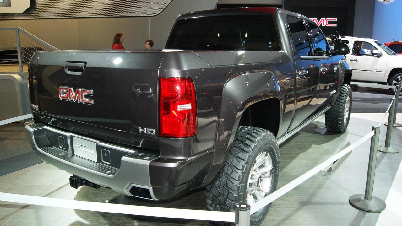 GMC Sierra HD Concept in Detroit - 2011 NAIAS