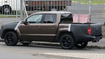 VW Amarok Pickup Spied in Most Revealing Shots Yet