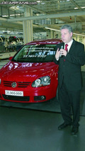 25 Millionth Volkswagen Golf Produced