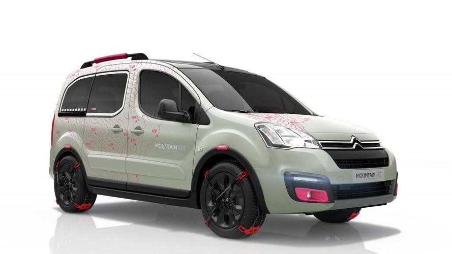 Citroen Berlingo Mountain Vibe concept previews production model in Geneva