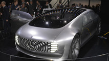 Mercedes-Benz F 015 Luxury in Motion concept at 2015 NAIAS