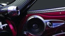 Pagani Huayra with Sonus Faber audio system