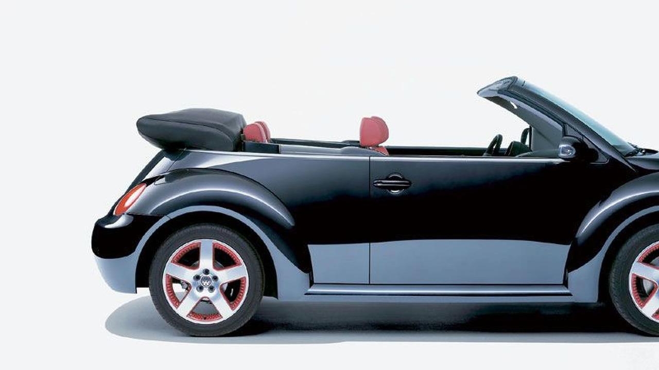 New Beetle Cabriolet in Dark Flint color