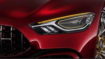 L'AMG GT quatre portes poursuit son teasing !