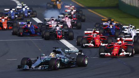 2017 F1 Australian Grand Prix - Race Results