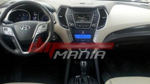 2013 Hyundai Santa Fe interior undisguised - plus leaked brochure pics