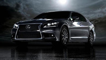 Lexus LS first official photo released