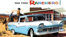 1957 Ford Ranchero and Skyliner