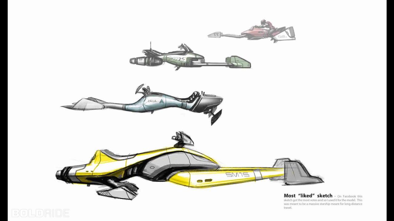 Speeder Concept D