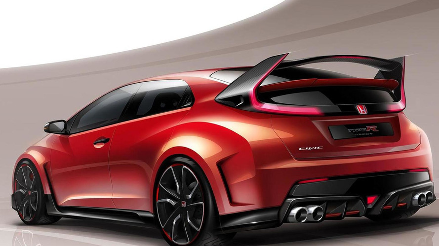 Honda Civic Type R concept set for Geneva launch next month