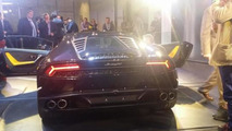 Lamborghini Huracan photographed in the metal at private viewing event, UK pricing details leaked
