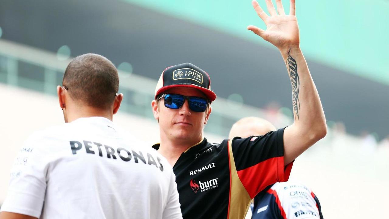 Kimi Raikkonen 27.10.2013 Indian Grand Prix