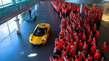 McLaren builds their 3,000 12C, celebrates 50 years of racing