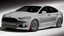 400 hp Full-Race Motorsports Ford Fusion teased for SEMA