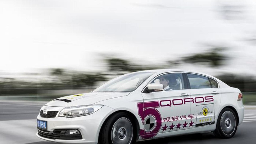 Qoros 3 Sedan is the safest car of 2013 tested by Euro NCAP