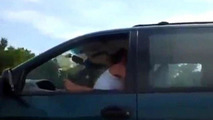 Couple caught having sex while driving on expressway [NSFW]