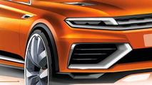 2013 Volkswagen CrossBlue Coupe Concept