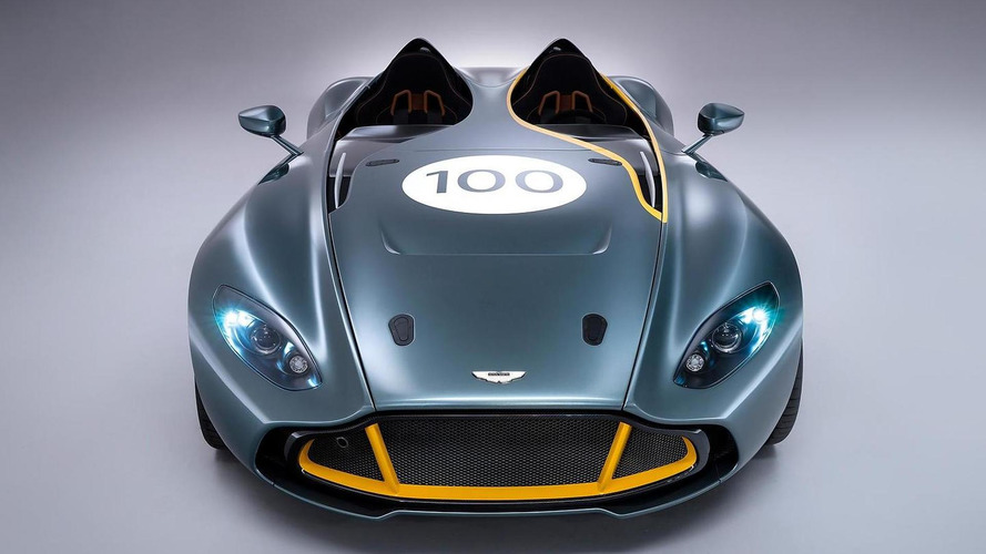 Aston Martin CC100 concept revs its engine [video]