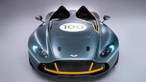 Aston Martin CC100 concept driven by Jay Leno [video]
