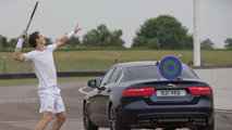 Jaguar challenges Andy Murray to a tennis match