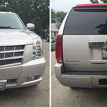 This Hennessey Escalade is a 675HP, Seven Seat Rocket Ship
