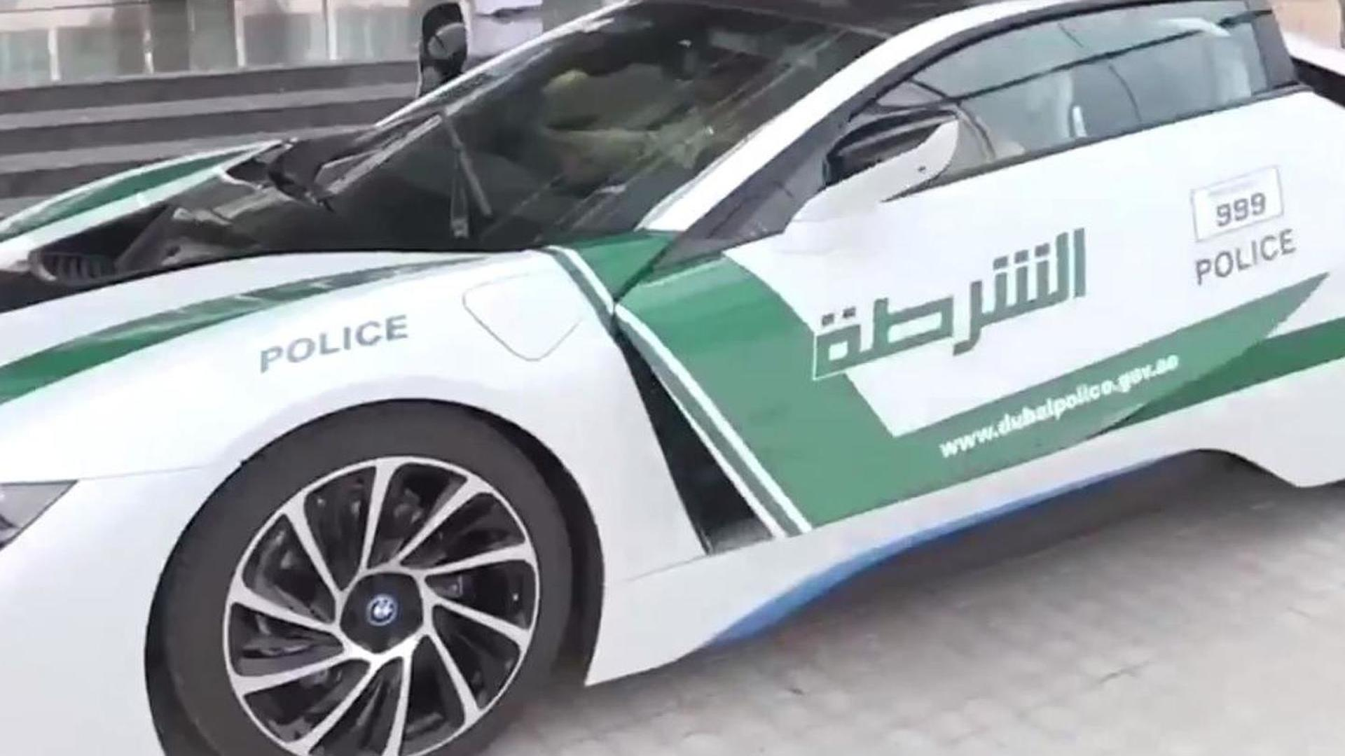 Dubai police fleet expands with BMW i8 [video]