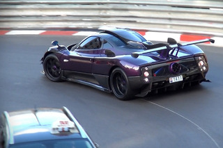Lewis Hamilton Crashed His Rare Pagani Zonda in Monaco