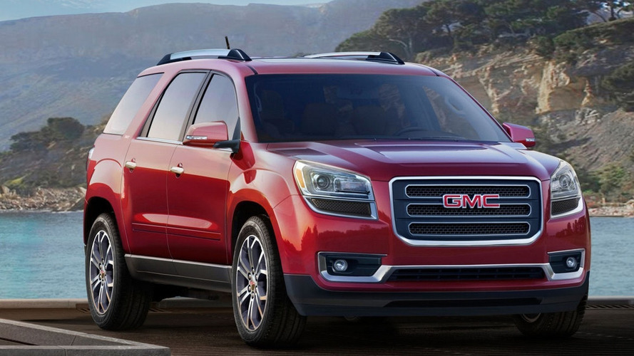 Previous GMC Acadia to temporarily coexist with new generation