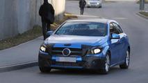2016 Mercedes-Benz A-Class facelift spy photo
