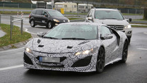 2015 Honda/Acura NSX spy photo