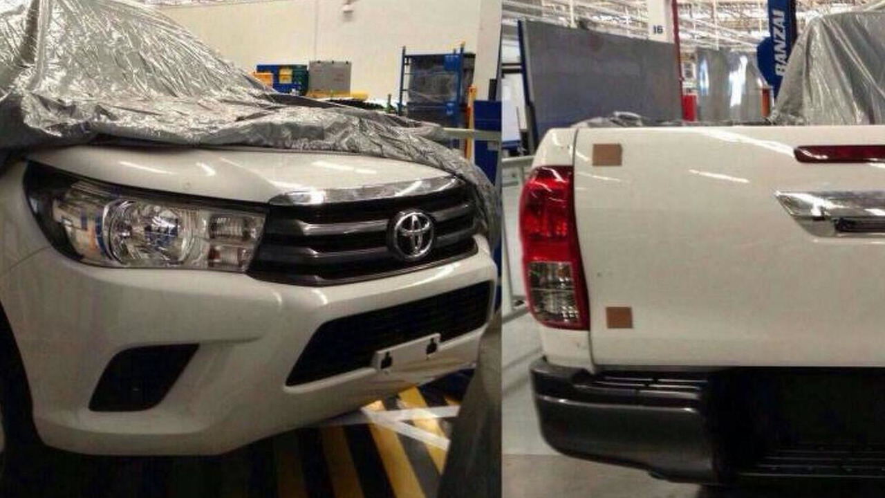 2016 Toyota Hilux leaked image