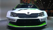 Skoda Fabia R5 concept at 2014 Essen Motor Show