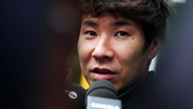 Kobayashi 'not happy' with Caterham situation