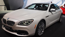 BMW brings mildly facelifted 6-Series family to Detroit