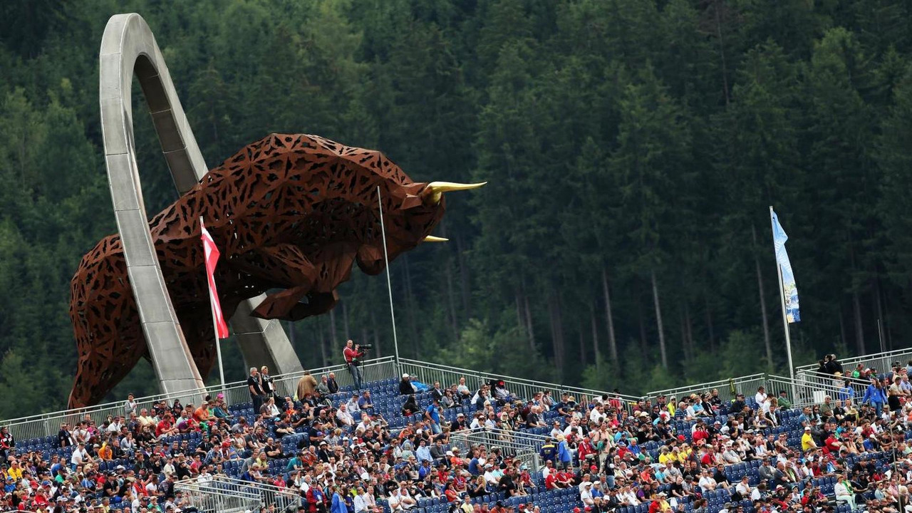 The Red Bull Ring monument, 21.06.2014, Austrian Grand Prix, Spielberg / XPB