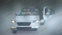 2015 Skoda Superb spied testing in China